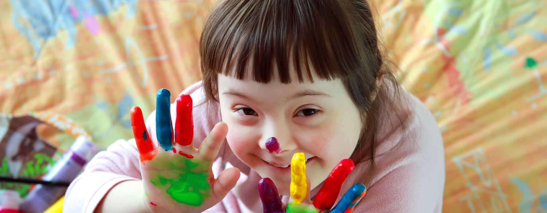 Child Hand Paint